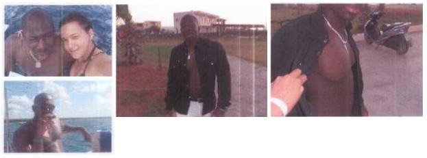 Amedy Coulibaly, ici en 2010, dévoile ses pectoraux sur des photos découvertes par les policiers ©  DR