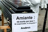 Chaque annee, l'amiante continue a faire des victimes (photo d'illustration). (C)CITIZENSIDE/MICHEL STOUPAK