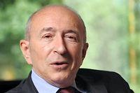 Le sénateur maire de Lyon, Gérard Collomb, se félicite de la dernière version de la réforme territoriale. ©Laurent CERINO/REA