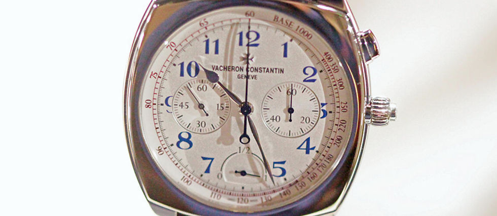 Vacheron Constantin dévoile le chronographe à rattrapante le plus plat du monde