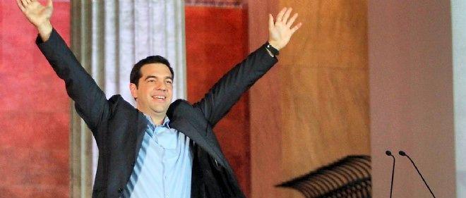 """Alexis Tsipras a dès dimanche averti que l'austérité était du passé, assurant cependant qu'il était disposé à négocier une solution """"bénéficiant à tous""""."""