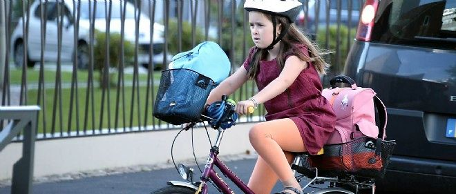 Parmi les victimes du vélo en 2013, 11 enfants.
