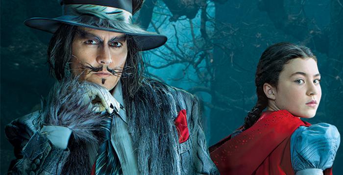 Le loup et le petit chaperon rouge d'Into the Woods ©  Disney