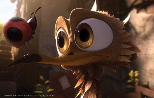"""Une scène du film d'animation """"Gus, petit oiseau, grand voyage"""" ©  Haut et Court"""