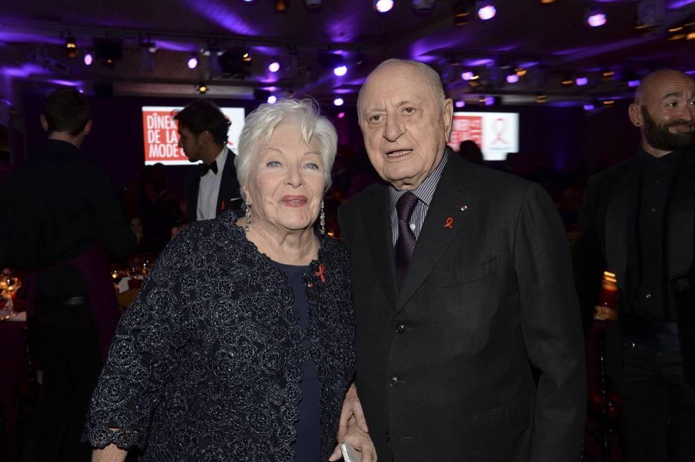 Pierre Bergé et Line Renaud président ce dîner annuel post défilés haute couture
