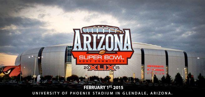 Le stade où aura lieu le Super Bowl. ©  DR