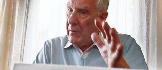 Alain Badiou, auteur de l'Étre et de l'événement, répond à Jacques-Alain Miller. ©Patrick Hertzog