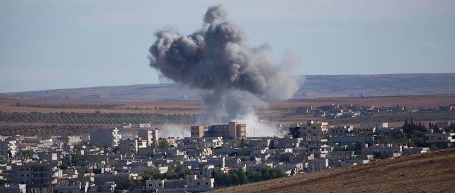Explosion dans la ville syrienne de Kobané, photo d'illustration.