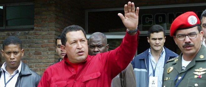 Hugo Chávez, l'ex-leader vénézuélien.