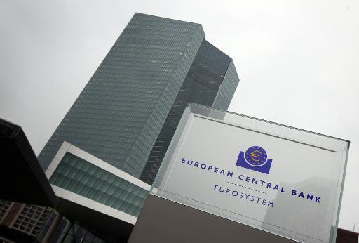La banque centrale européenne va priver les banques grecques d'un de leurs canaux de financement © Daniel Roland AFP/Archives