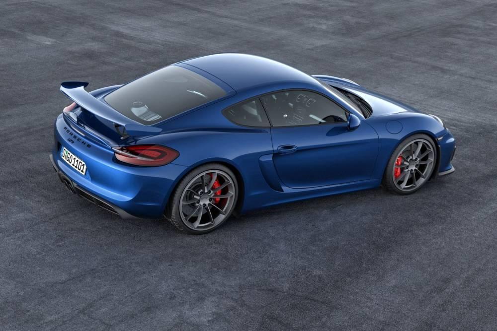 En option le Cayman GT4 peut être équipé de freins en carbone céramique. ©  PORSCHE