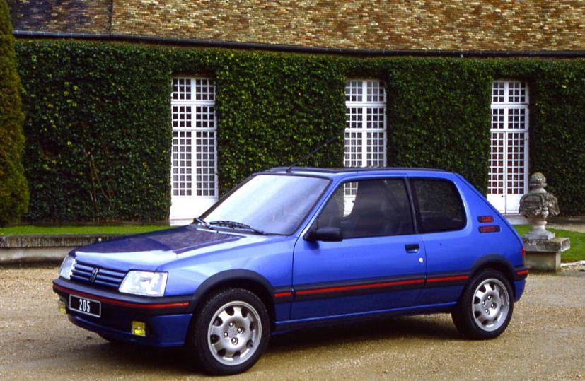 Avant la 208 GTI, il y avait la mythique 205, dont le spot publicitaire a été opportunément détourné par Peugeot. ©  PEUGEOT