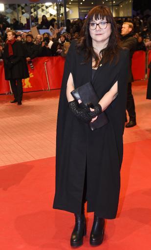 La réalisatrice espagnole Isabel Coixet, le 5 février 2015 lors de l'ouverture de la Berlinale © Tobias Schwarz AFP