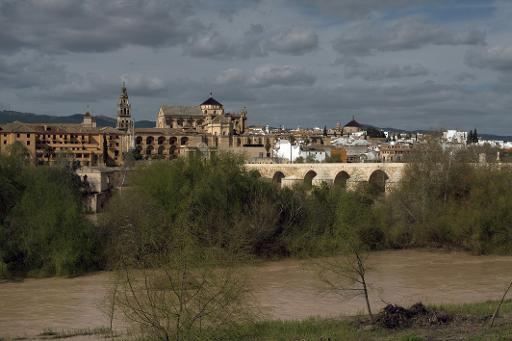 Une vue de Cordoue, dans le sud de l'Espagne, et de sa mosquée-cathédrale © Jorge Guerrero FILES/AFP