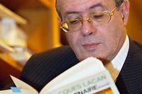 Jacques-Alain Miller, lit son illustre aine, Jacques Lacan. (C)Mehdi fedouach
