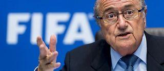 Sepp Blatter brigue un cinquième mandat à la Fifa. Il est en poste depuis 1998. ©Fabrice Coffrini