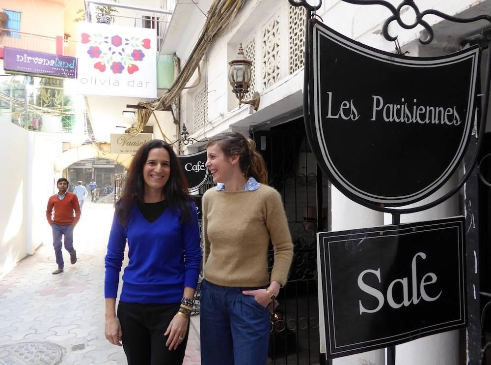 Olivia Dar et Lucie Salaun : deux Françaises qui ont créé leur affaires en Inde ©  VD