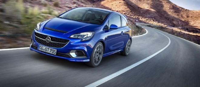 Forte de 207 ch, la nouvelle Corsa OPC peut être équipée d'un Pack Performance incluant un véritable différentiel autobloquant.