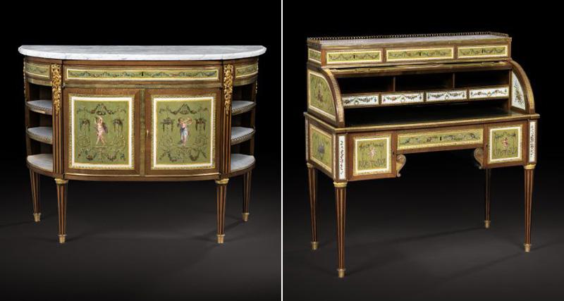Bureau et commode Louis XVI ©  DR
