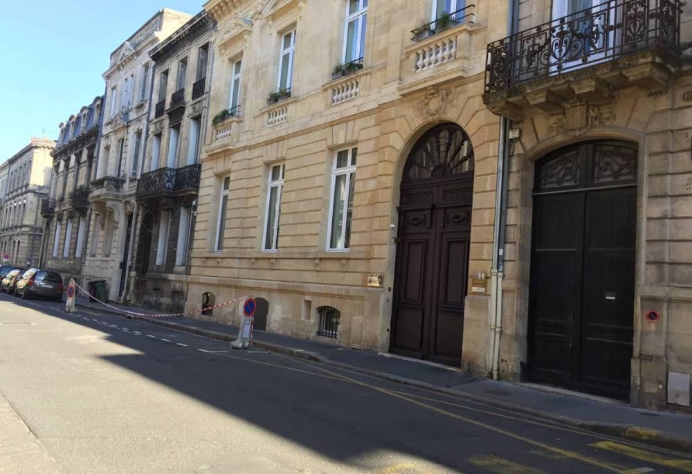 L'entrée de l'hôtel Yndo, à Bordeaux ©  DR