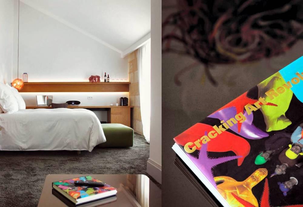 Photo d'une chambre de l'hôtel Yndo, à Bordeaux ©  DR