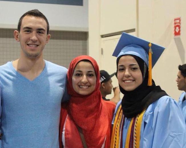 La photo des trois victimes publiée sur facebook et Twioter
