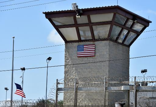 Un mirador de la prison américaine de Guantanamo, sur l'île de Cuba, le 8 avril 2014 © Mladen Antonov AFP/Archives