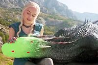 Les dragons de Game of Thrones ne sont pas si méchants que cela... ©HBO