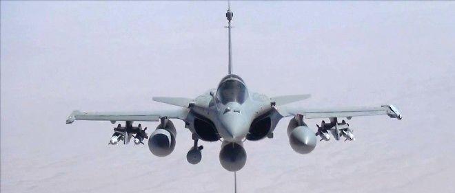 Un avion Rafale de l'armée française survolant l'Irak en septembre 2014 (photo d'illustration).