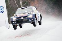Le Norvégiens Andreas Mikkelsen a pris la tête du classement provisoire, à l'issue de la journée de vendredi.