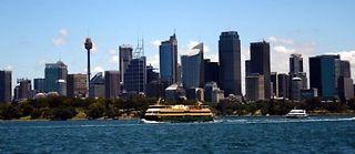 Vue de Sydney. La ville concentre plus de la moitié des Français d'Australie. ©AFP PHOTO / Saeed KHAN