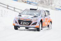 Le Belge Thierry Neuville (Hyundai) a pris les commandes du rallye de Suède ce samedi. Va-t-il confirmer et s'imposer ce dimanche ? ©JONATHAN NACKSTRAND