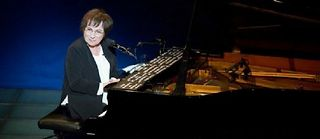 Marie-Paule Belle sur scène. ©DR