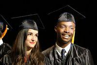 Remise des diplômes de fin d'études. 2014. Montpellier Business School. ©Gilles Lefrancq