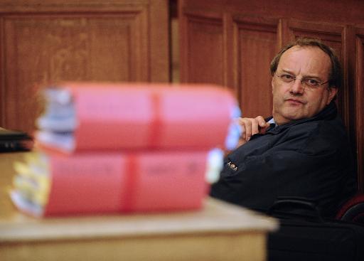 Jean-Louis Muller lors de son procès le 21 octobre 2013 à Nancy © Jean-Christophe Verhaegen AFP/Archives