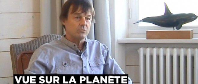 Nicolas Hulot, envoyé spécial du président de la République pour la protection de la planète, reçoit Audrey Crespo-Mara et l'équipe de LCI chez lui en Bretagne.