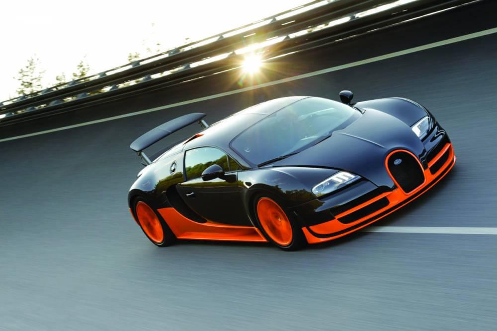 La voiture du record de vitesse ©  Bugatti