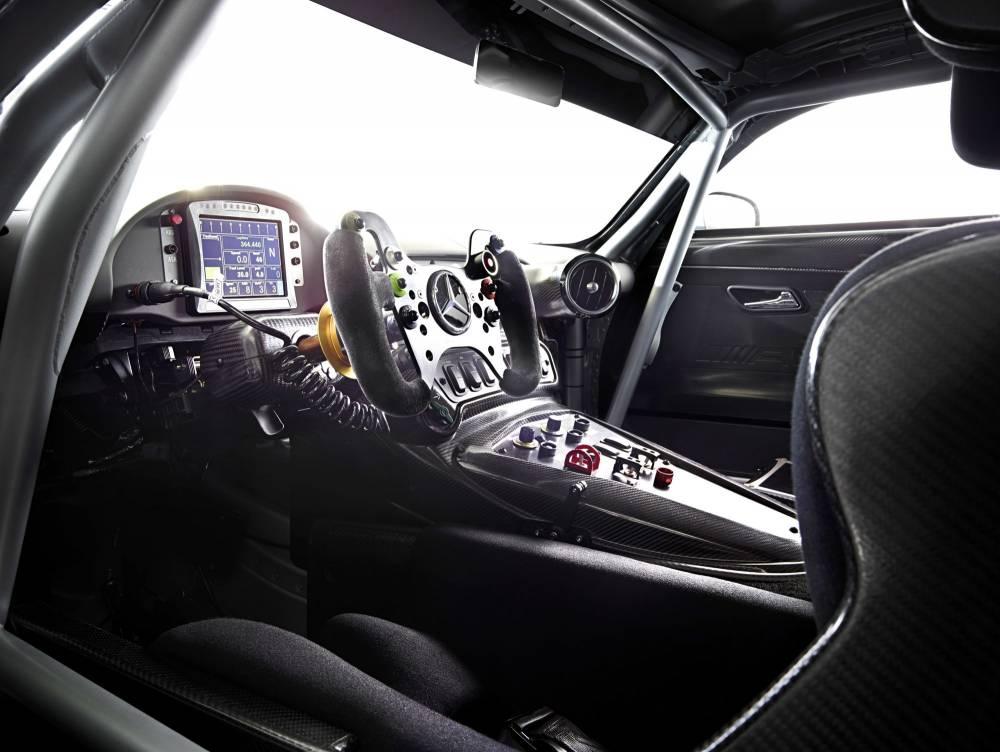 L'ergonomie course n'a plus beaucoup de points communs avec la série ©  Mercedes