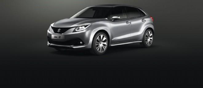 L'iK-2 préfigure une concurrente de la Renault Clio que Suzuki commercialisera début 2016.