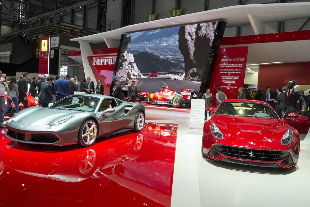 Ferrari reste l'un de sstands les plus courus ©  DR