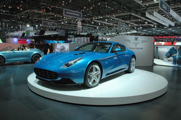 La Superleggera Tourung Lusso mixe des codes esthétiques d'hier sur un châssis de Ferrari F12 ©  DR