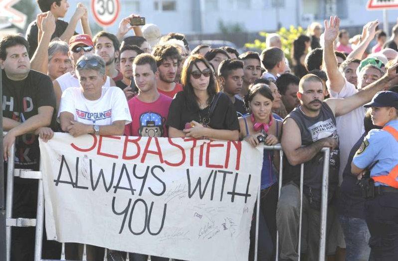Lors d'une démonstration à Buenos Aires, cette semaine. ©  Citroën