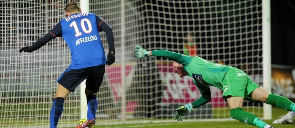 Berbatov a contribué à la victoire de l'AS Monaco face à Evian-TG (3-1).