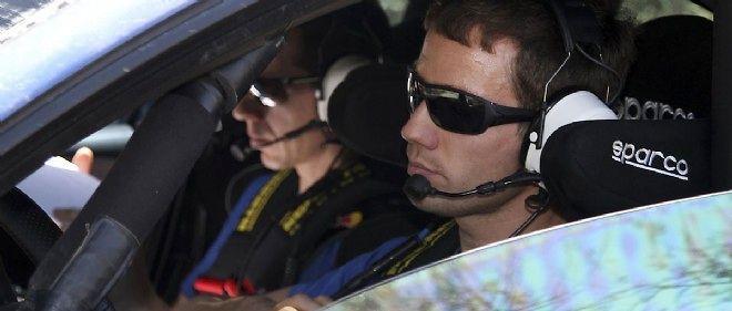 """Alors qu'il """"ouvrait"""" la piste ce vendredi, Sébastien Ogier (Volkswagen) a réussi à conserver la tête du rallye du Mexique."""