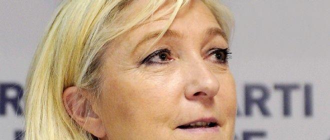 """Marine Le Pen estime """"révoltant"""" qu'un sans-papiers soit décoré meilleur apprenti menuisier de France."""