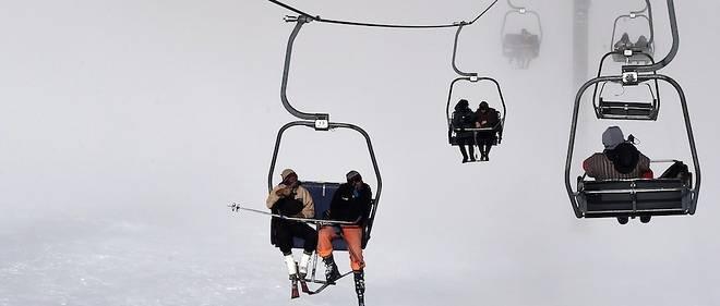 Il y a eu de grosses chutes de neige ces derniers temps à la station de ski d'Oukaïmeden.