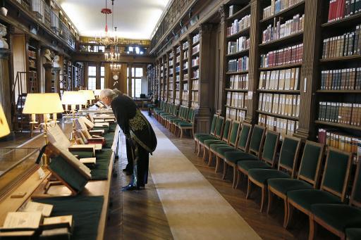 L'intérieur de l'Académie française à Paris, le 22 mai 2014 © Patrick Kovarik AFP/Archives