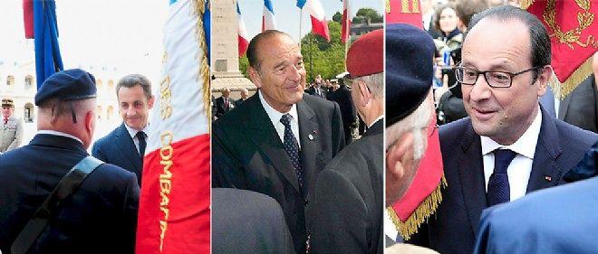 La Cour des comptes critique la gestion de Jacques Chirac, Nicolas Sarkozy et François Hollande de la retraite des anciens combattants.