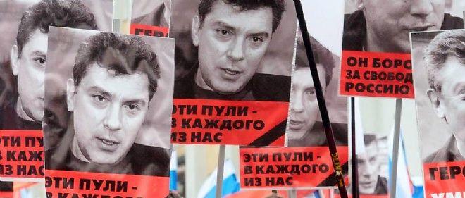 Une manifestation a eu lieu à Moscou pour rendre hommage à Boris Nemtsov.