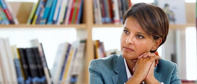 La ministre de l'Education nationale Najat Vallaud-Belkacem a presente sa reforme du college.